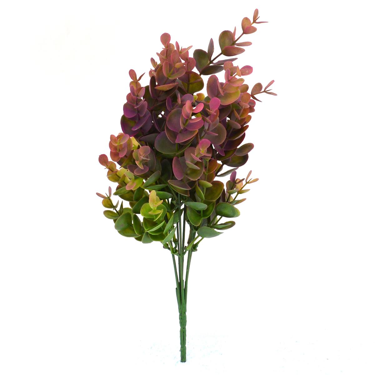 Mini bouquet di eucalipto verde con Siclam