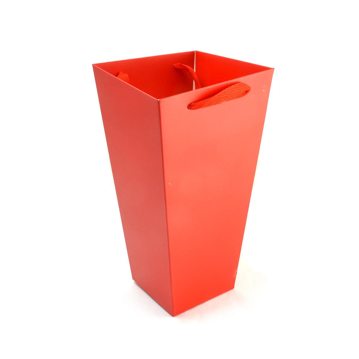 Tipo di scatola di cartone Borsa rossa