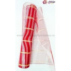 Rete semplice con filo rosso