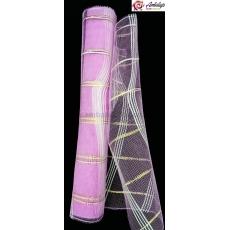 Rete semplice con filo rosa