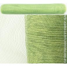 Semplice verde scuro con rete in plastica verde chiaro