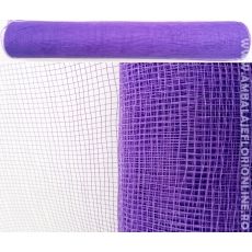 Semplice maglia di plastica viola chiusa