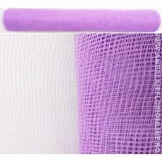 Rete di plastica viola chiaro semplice