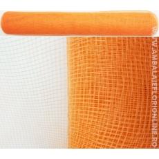 Rete di plastica semplice arancione