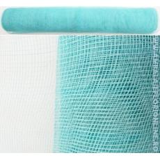 Rete di plastica semplice blu