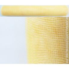 Maglia in plastica color crema color oro