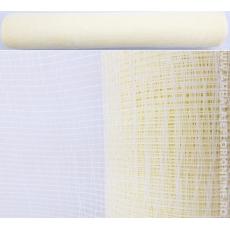 Rete in plastica color crema semplice