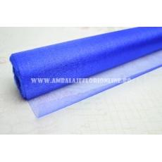 Sull'organza blu