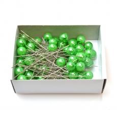 Aghi 10 mm x 6,5 cm 50 pezzi verde scuro
