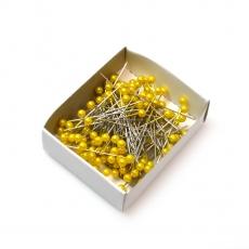 Aghi 5,5 mm x 5,5 cm 144 pezzi gialli