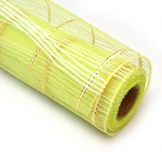 Rete semplice con filo verde mela