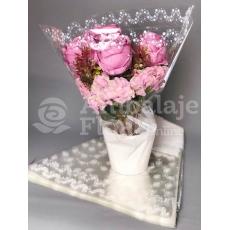Modello di imballaggio vaso 4