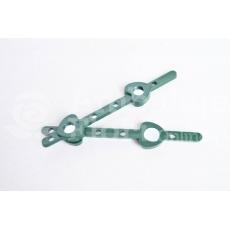 Clip per coccarda magnetica - 5 pezzi