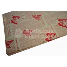 Farfalle di carta kraft rosse