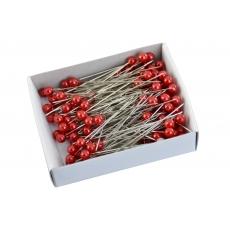 Aghi 5,5 mm x 5,5 cm 144 pezzi rossi