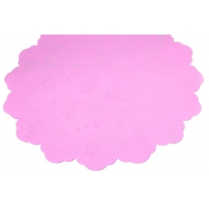 Cellophane rotondo 50 cm PIW rosa