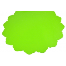 Cellophane rotondo 50CM Pois Verde chiaro