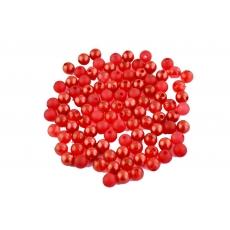 Perle di colore rosso misto