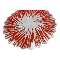 Il cellophane rosso si accende di rosso con il bianco