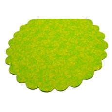 Cellophane Modello FLW Verde con Giallo