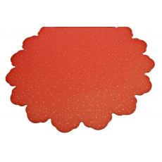 Puntini rossi rotondi 60 cm di cellophane