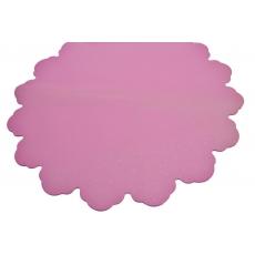 Puntini rosa rotondi 60 cm di cellophane