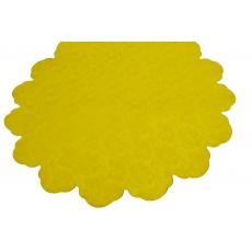 Fiori gialli rotondi 60 cm di cellophane