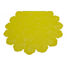 Cellophane rotondo 60 cm PIW giallo chiaro