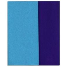 Carta crespa blu-blu Gloria Doublette, codice 3320