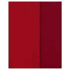 Carta crespa Gloria Doublette rosso carminio, codice 3331