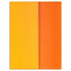Carta crespa Gloria Doublette giallo dorato, codice 3406