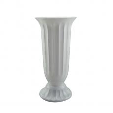 Vaso da terra 18x38 cm bianco