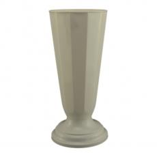 Vaso da terra 16x38 cm bianco