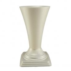 Vaso da terra 19x36 cm bianco perla