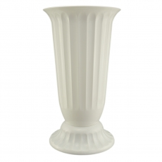 Vaso da terra 27x50 cm bianco