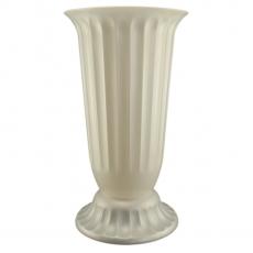 Vaso da terra Pearl 27x50 cm bianco