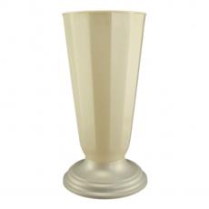 Vaso da terra 23x49 cm bianco perla