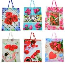 Set di 12 sacchetti regalo 18x23x10