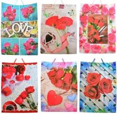 Set di 12 sacchetti regalo 32x45x10