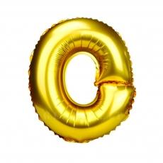 Palloncino gonfiabile dorato 55 cm lettera O