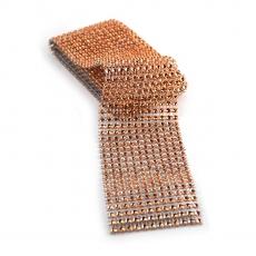 Rotolo di strass flessibile 6 cm x 1,8 m, fresa