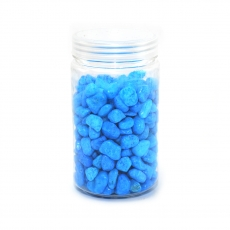 Granulazione di ghiaia ornamentale 8-12mm blu