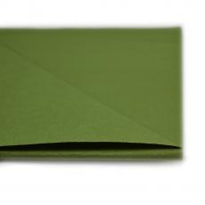20 fogli di carta cerata verde kaki