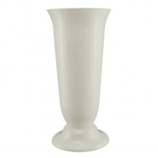 Vaso da terra 19 x 38 cm bianco